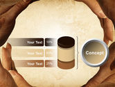 Circle of Hands PowerPoint Template#11
