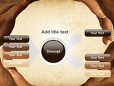 Circle of Hands PowerPoint Template#14