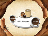 Circle of Hands PowerPoint Template#16