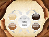 Circle of Hands PowerPoint Template#6