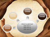 Circle of Hands PowerPoint Template#7