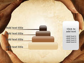 Circle of Hands PowerPoint Template#8
