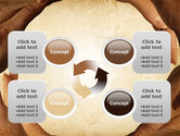 Circle of Hands PowerPoint Template#9