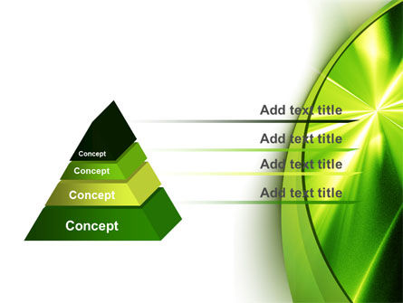 Abstract Green Sparkles PowerPoint Template Slide 12