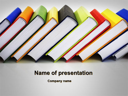 Paper Books PowerPoint Template