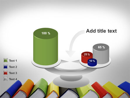 Paper Books PowerPoint Template Slide 10