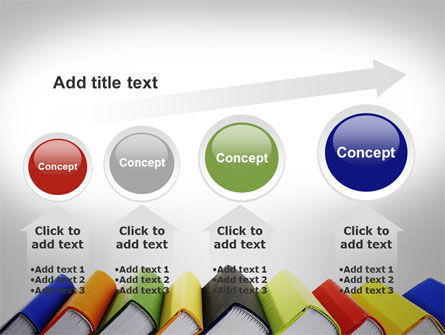 Paper Books PowerPoint Template Slide 13