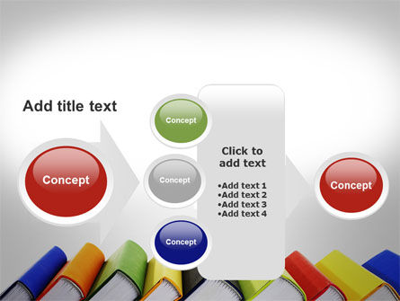 Paper Books PowerPoint Template Slide 17