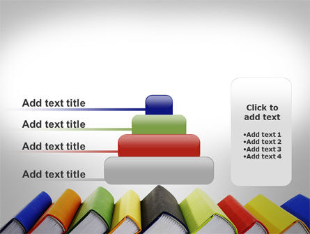 Paper Books PowerPoint Template Slide 8