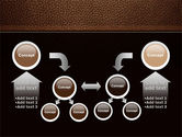 Embossed Leather Cover PowerPoint Template#19