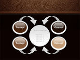 Embossed Leather Cover PowerPoint Template#6