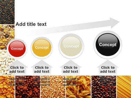 Convenience Foods PowerPoint Template Slide 13