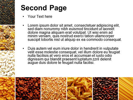 Convenience Foods PowerPoint Template, Slide 2, 10087, Agriculture — PoweredTemplate.com