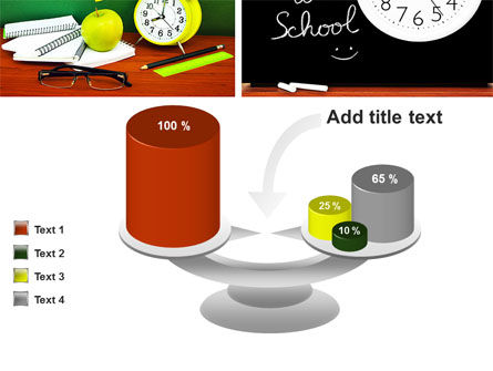 School Friends Back to School PowerPoint Template Slide 10