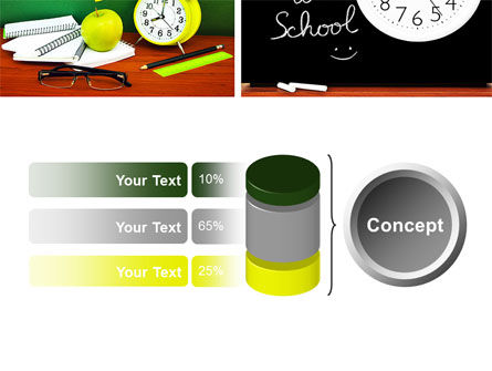 School Friends Back to School PowerPoint Template Slide 11