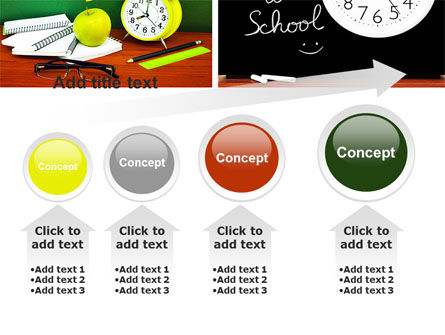 School Friends Back to School PowerPoint Template Slide 13