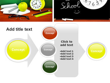 School Friends Back to School PowerPoint Template Slide 17