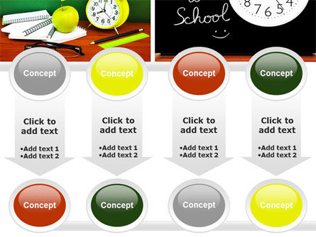 School Friends Back to School PowerPoint Template Slide 18
