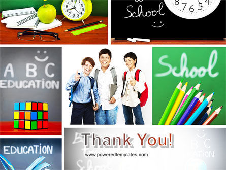 School Friends Back to School PowerPoint Template Slide 20