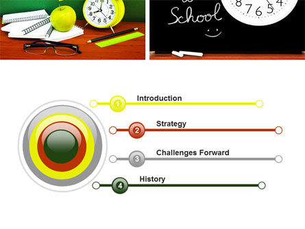 School Friends Back to School PowerPoint Template Slide 3