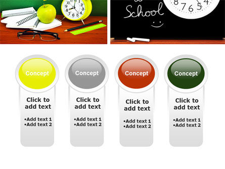 School Friends Back to School PowerPoint Template Slide 5
