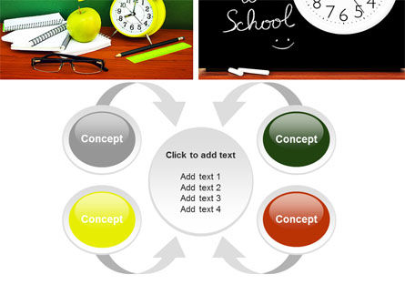 School Friends Back to School PowerPoint Template Slide 6