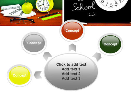 School Friends Back to School PowerPoint Template Slide 7