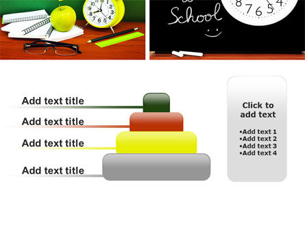 School Friends Back to School PowerPoint Template Slide 8