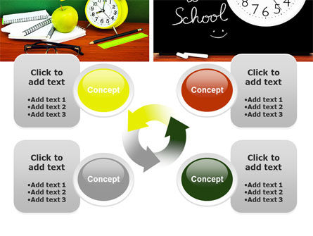 School Friends Back to School PowerPoint Template Slide 9