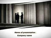Legal: Lobby Talks PowerPoint Template #10093