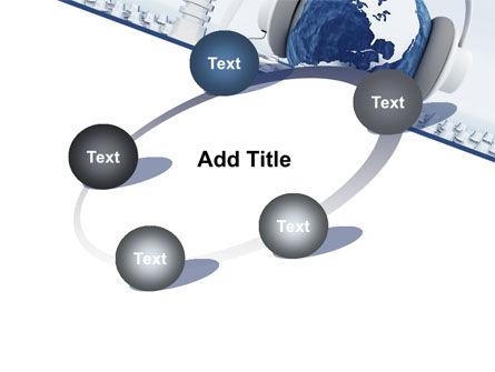DeeJay Console PowerPoint Template Slide 14