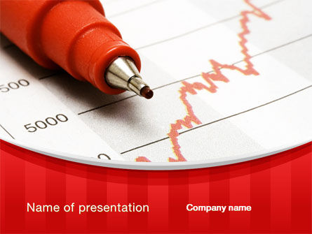 Indexes Growth Chart PowerPoint Template