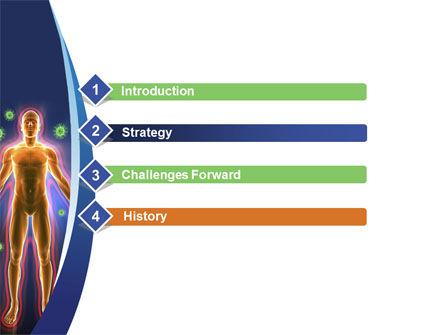 Human Immune System PowerPoint Template, Slide 3, 10098, Medical — PoweredTemplate.com