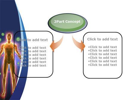 Human Immune System PowerPoint Template, Slide 4, 10098, Medical — PoweredTemplate.com