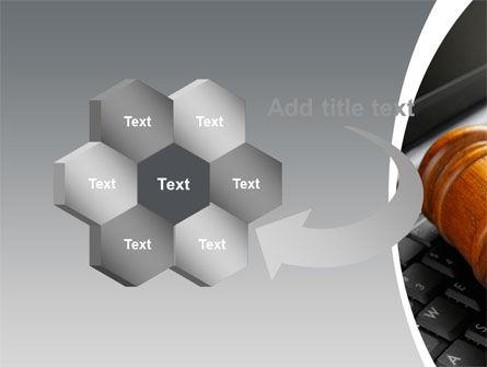 Cyber Law PowerPoint Template Slide 11
