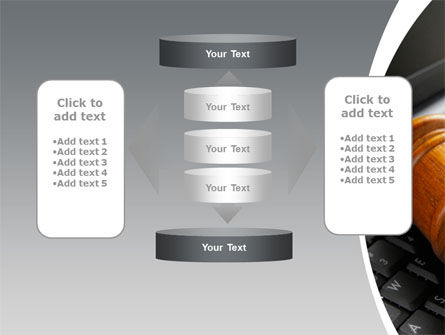 Cyber Law PowerPoint Template Slide 13