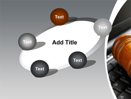 Cyber Law PowerPoint Template Slide 14