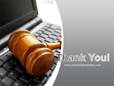 Cyber Law PowerPoint Template Slide 20
