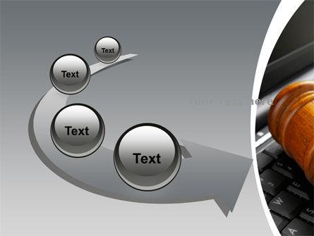 Cyber Law PowerPoint Template Slide 6