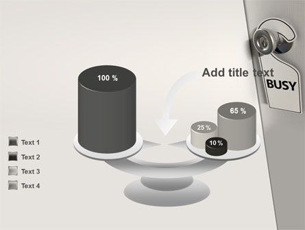Busy PowerPoint Template Slide 10