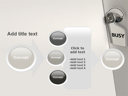 Busy PowerPoint Template Slide 17