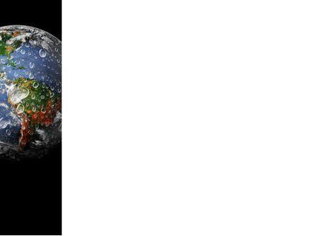 Earth Splash PowerPoint Template, Slide 3, 10104, Global — PoweredTemplate.com
