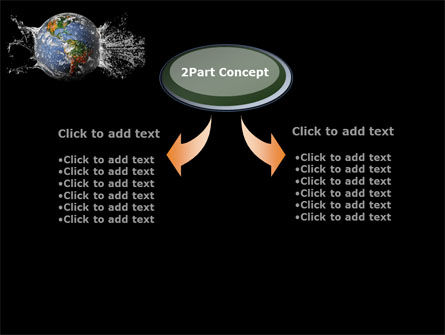 Earth Splash PowerPoint Template, Slide 4, 10104, Global — PoweredTemplate.com