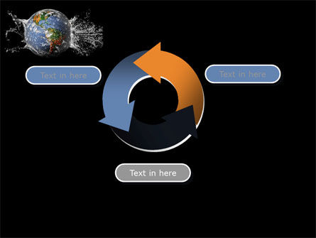 Earth Splash PowerPoint Template Slide 9