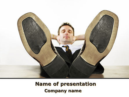 People: Relax PowerPoint Template #10105
