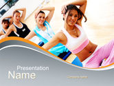 Sports: Workout PowerPoint Template #10108