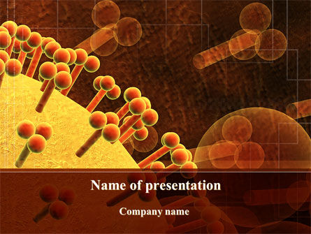 Technology and Science: Microcosm PowerPoint Template #10111