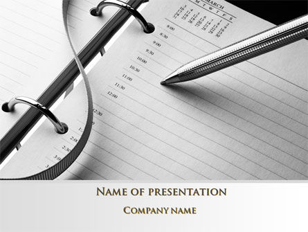 Consulting: New Plans PowerPoint Template #10112