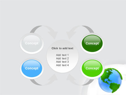 World in Forest PowerPoint Template Slide 6
