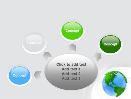 World in Forest PowerPoint Template Slide 7
